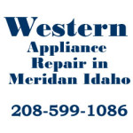 Western Appliance Repair 1461 Calistoga Ave Meridian Idaho 83642 208-599-1086